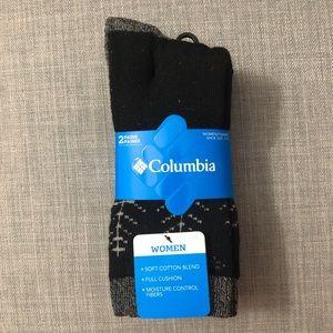 NWT Columbia Carew Socks - 2 Pack